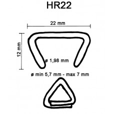 D-ring HR22 gegalvaniseerd